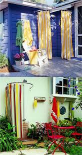 Outdoor Shower Curtains Outdoor Cing Shower Curtain Shower Curtains Ideas