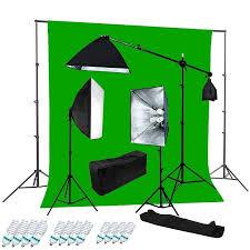 Backdrop Stand Pro 2400w Video Studio Boom Continous Vidoe Light Chroma Key