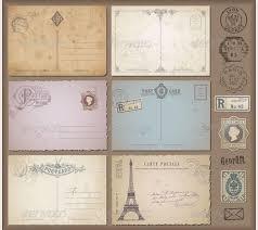 35 best vintage postcard design templates for inspirations free