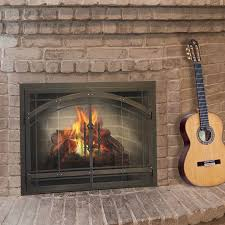 fireplace door glass replacement stoll fireplace inc custom glass fireplace doors heating