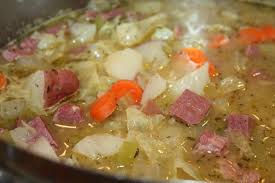 corned beef cabbage and veggie soup lingonberry lane