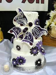 butterfly wedding cake purple butterfly wedding cake by forgetmmenot on deviantart