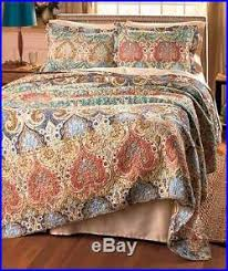Shams Bedding King Size Bed Handcrafted Giselle 3 Pc Quilt Blanket U0026 Pillow