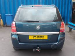 vauxhall algeria vauxhall zafira 2005 onwards witter fixed flange tow bar