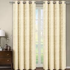 tabitha jacquard grommet top curtain panel each