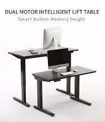 Table Leg Hardware Ergonomic Electric Height Adjustable Table Leg Sit Stand Desk