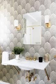 Wallpaper For Bathrooms Ideas Colors Best 25 Art Deco Bathroom Ideas On Pinterest Art Deco Decor