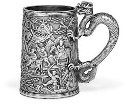 silver mug a export silver mug of khe cheong canton circa