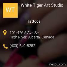 white tiger studio tattoos in high river