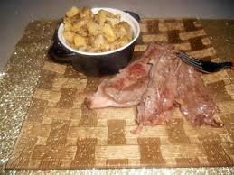 cuisiner paleron recette de pommes de terres au four et paleron de boeuf