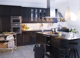 Best Kitchen Ideas Images On Pinterest Kitchen Ideas Ikea - Ikea black kitchen cabinets