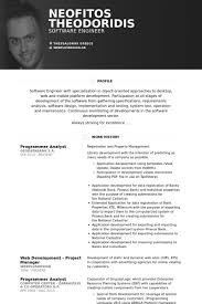 Property Management Resume Samples by Programmer Analyst Resume Samples Visualcv Resume Samples Database