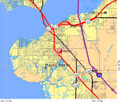 punta gorda fl map punta gorda zip code map zip code map