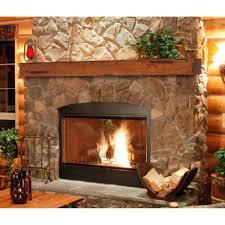 brick fireplace mantel shelf house hello home blog decor coaxing