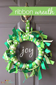 ribbon wreath how to make a ribbon wreath simple recipes diy tutorials