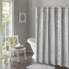 Teal And Brown Shower Curtain Gray U0026 Silver Shower Curtains You U0027ll Love Wayfair