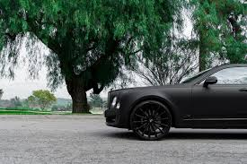 bentley black matte murdered out bentley mulsanne is it sick or does it make you sick