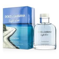 dolce and gabbana light blue men s 2 5 oz dolce gabbana light blue swimming in lipari edt spray limited