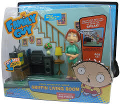 Amazoncom Family Guy Griffin Living Room Playset Toys  Games - Family guy room