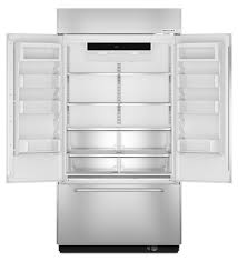 Kitchenaid Counter Depth French Door Refrigerator Stainless Steel - kitchenaid built in french door refrigerator kbfn402ess