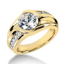 mens gold diamond rings mens designer diamond ring 1 5 carat 18k gold g vs diamonds by