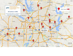 Map Of Dallas Area Pcc Testing And Assessment Psychologist Dallas Tx 75219