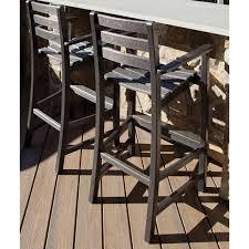 Trex Rocking Chairs Trex Outdoor Furniture Monterey Bay Bar Height Arm Chair Bar