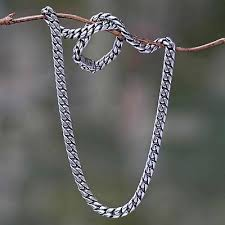 necklace chain sterling silver images Jewelry for men sterling silver chain necklace from bali jpg