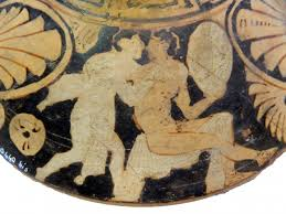 vasi etruschi una lekanis etrusca a figure rosse