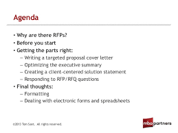 webinar building a winning bid how to respond to requests for propo u2026
