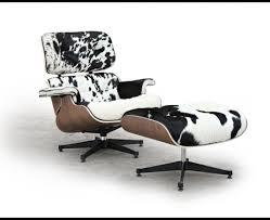 cowhide chair stool