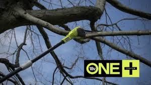 ryobi 18v one cordless pole saw