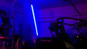 led light whip for atv diy color changing led whip youtube