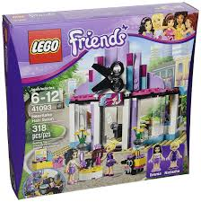 amazon com lego friends 41093 heartlake hair salon toys u0026 games