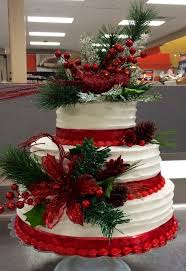 christmas wedding cakes picture of adorable christmas wedding cakes for wedding cake ideas