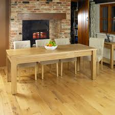Oak Dining Table Uk Oak Extending Oak Dining Table Seats 4 8 Hshire Furniture