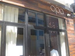 modern greek lunch at opa was designed with summer in mind