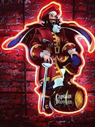 captain morgan neon bar light queen sense captain morgan pirate real glass neon light sign home
