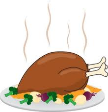 turkey clipart image turkey dinner for thanksgiving