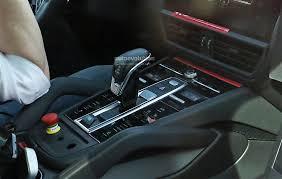 Porsche Panamera Manual - 2018 porsche cayenne interior revealed gets larger infotainment