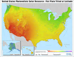 Different Types Of Maps Solar Maps Geospatial Data Science Nrel