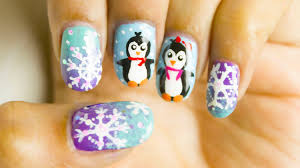 frosty nail art designs for winter chippernails youtube