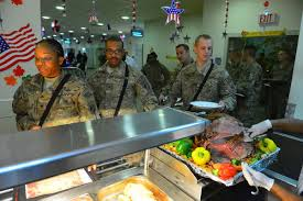 thanksgiving army soldiers celebrate thanksgiving in afghanistan