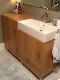 Bathroom Vanities 18 Inches Deep by Fine Bathroom Vanity 18 Depth Interesting Brown Rectangle