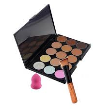 Makeup Set 15 colors concealer palette makeup sets with powder brush
