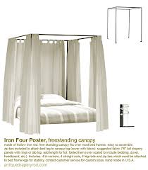 4 Poster Bed With Curtains Antique Drapery Rod Romantic Bed Collection