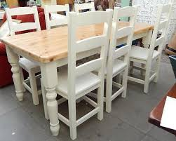 shabby chic dining table shabby chic farmhouse tables collection on ebay