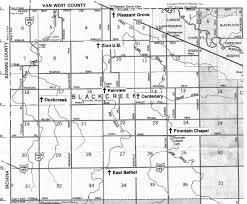 Ohio Map With Counties Black Creek Karen U0027s Chatt