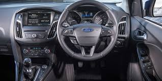 ford focus interior 2016 ford focus red and black editions u2013 5 facts carwow