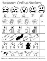 education world halloween ordinal numbers